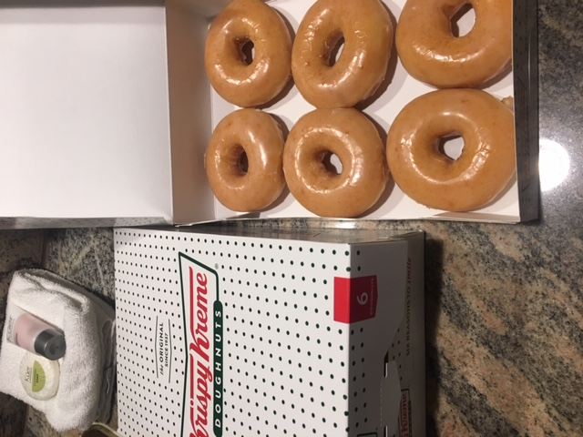 When the Golden Knights win, fans get a dozen donuts!